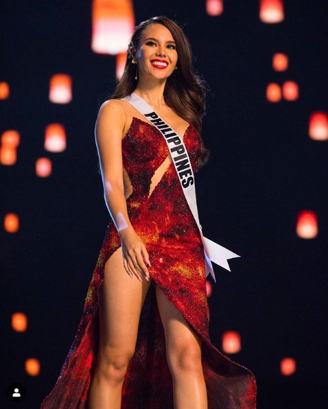 Мисс Вселенная Катриона Грэй из Филиппин