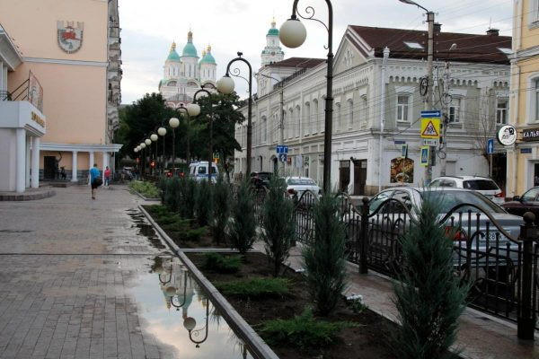 Резкое понижение температуры и дождь ожидаются в Астрахани