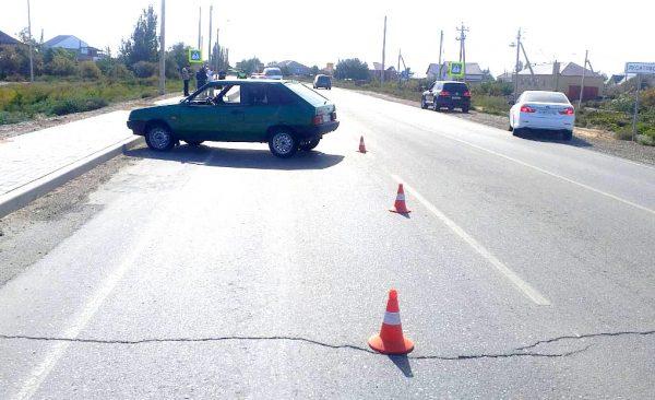ВАЗ-2108 сбил гражданина Узбекистана-