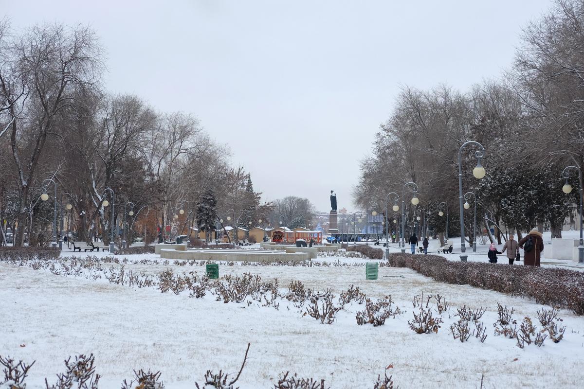 Снежок и легкий морозец. Прогноз погоды на ноябрь на Нижней Волге